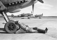 Asisbiz Messerschmitt Bf 109G2 FAF HLeLv34 MT214 and MT216 Utin 24th Apr 1943 02