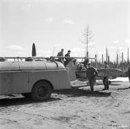 Asisbiz Messerschmitt Bf 109G2 FAF HLelv34 MT20x being refueled at Suulajarvi 10th May 1944 02