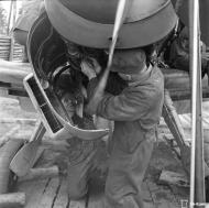 Asisbiz Messerschmitt Bf 109G2 undergoing routine maintenance at Suulajarvi 10th May 1944 10
