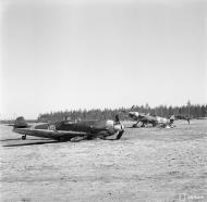 Asisbiz Messerschmitt Bf 109G2Trop FAF 2.HLeLv24 MT236 n MT242 ground collision Suulajarvi 12th May 1944 02