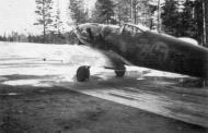 Asisbiz Messerschmitt Bf 109G6Trop Erla FAF MT487 unknown unit Stkz KW+YG WNr 166007 Finland 1943 01