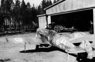 Asisbiz Post war Messerschmitt Bf 109G6Trop Erla FAF MT487 unknown unit Stkz KW+YG WNr 166007 Finland 1953 01