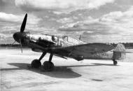 Asisbiz Post war Messerschmitt Bf 109G6Trop Erla FAF MT504 unknown unit WNr 167310 Finland 1953 02