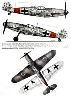 Asisbiz Messerschmitt Bf 109G6 Stab JG1 Herbert Ihlefeld Gruhno Germany autumn 1944 0A