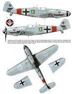 Asisbiz Messerschmitt Bf 109G6AS Erla JG1 Green 13 Walter Oesau WNr 20601 Lippspinge May 1944 0A