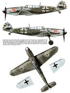 Asisbiz Messerschmitt Bf 109G12 Red 96 WNr 163824 Germany Dec 1944 0A