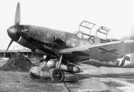 Asisbiz Messerschmitt Bf 109G12R3 JG104 unknown Germany 1944 01