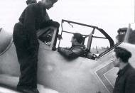 Asisbiz Aircrew Luftwaffe JG11 ace Herman Graf with his Bf 109G6 ebay2