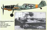 Asisbiz Messerschmitt Bf 109G6 2.JG11 Black 4 WNr 442006 captured by soviet forces late 1944 0A