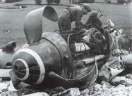 Asisbiz Messerschmitt Bf 109G6 6.JG11 Yellow 7 Rudolf Strosetzki WNr 441139 Creully France 7th June 1944 02