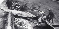 Asisbiz Messerschmitt Bf 109G6 6.JG11 Yellow 7 Rudolf Strosetzki WNr 441139 Creully France 7th June 1944 03