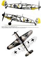 Asisbiz Messerschmitt Bf 109G6 9.JG11 Yellow 5 Oldenburg Germany summer 1943 0A