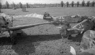 Asisbiz Messerschmitt Bf 109G6 IV.JG51 White 2 WNr 412605 slavaged Siwerskaja 1944 abandoned at Johannistal 1945 01