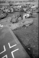 Asisbiz Messerschmitt Bf 109G6 WNr 760070 abandoned at Johannistal Adlerhof Germany May 1945 01