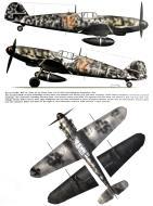 Asisbiz Messerschmitt Bf 109G6R3R6 2.JG300 Red 12 Horst John Bonn Hangelar Sep 1943 0A