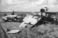 Asisbiz Messerschmitt Bf 109G6R6 12.JG2 Blue 1 Georg Peter Schorsch Eder WNr 14988 28th Mar 1943 01