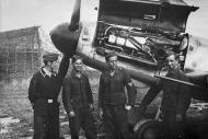 Asisbiz Messerschmitt Bf 109G6 III.JG26 under going routine maintenance Holland 1943 01