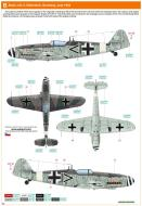 Asisbiz Messerschmitt Bf 109G14 Erla Stab I.JG3 Gutersloh Germany Jul Dec 1944 0B