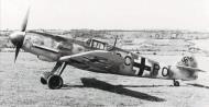 Asisbiz Messerschmitt Bf 109G2 3.JG3 Stammkennzeichen Stkz CC+PO WNr 14244 became Yellow 1 01