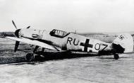 Asisbiz Messerschmitt Bf 109G6 1.JG3 Stkz RU+OZ WNr 162784 Lothar Hirtes interned Switzerland 01