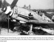Asisbiz Messerschmitt Bf 109G6 6.JG3 Black 6 WNr 760357 Plivot Athis Ete France 1944 01