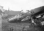 Asisbiz Messerschmitt Bf 109G6 9.JG3 Yellow 2 abandoned airframe ebay 1