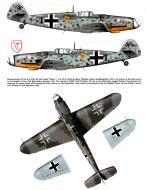 Asisbiz Messerschmitt Bf 109G6 9.JG3 Yellow 7 Wilhelm Lemke WNr 26032 Bad Worishofen Bavaria Germany Oct 1943 0A