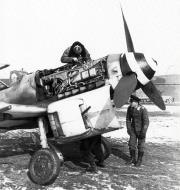 Asisbiz Messerschmitt Bf 109G6R6 JG3 under going maintenance 01