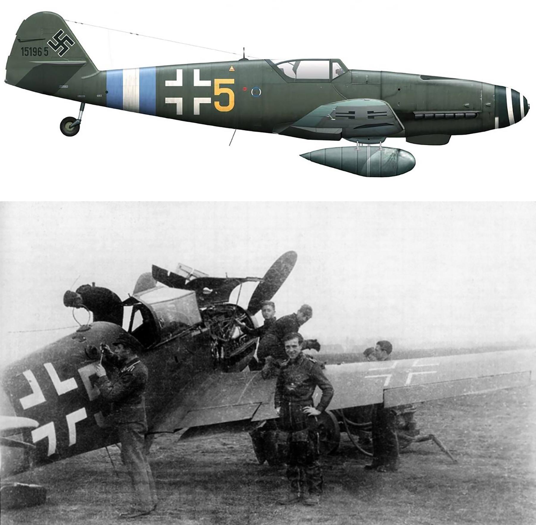 Asisbiz Messerschmitt Bf 109 G 5 JG300
