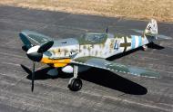 Asisbiz Messerschmitt Bf 109G10 Erla 16.JG300 Blue 4 WNr 610824 preserved warbird 01