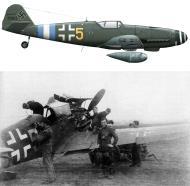Asisbiz Messerschmitt Bf 109G10R3 Erla 3.JG300 Yellow 5 WNr 151965 Prague Kbely Czechoslovakia May 1945 0A