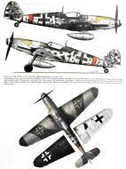 Asisbiz Messerschmitt Bf 109G14AS Erla 10.JG300 White 1 unknown pilot Juterbog Waldlager autumn 1944 0A