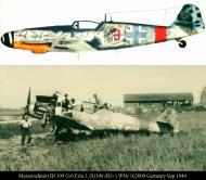 Asisbiz Messerschmitt Bf 109G6 Erla 2.JG300 Red 3 WNr 162000 Germany Sep 1944 0A