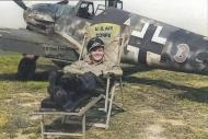 Asisbiz Messerschmitt Bf 109G6R3 Stab I.JG50 Green 3 Gottfried Weiroster WNr 15912 Holland 1943 02