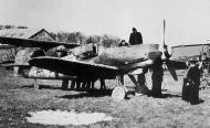 Asisbiz Messerschmitt Bf 109G10R3 Erla 10.JG51 Yellow 5 Horst Walter Petzschler WNr 130297 interned Sweden 4th May 1945 01