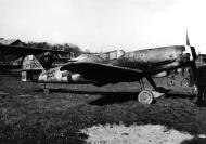 Asisbiz Messerschmitt Bf 109G10R3 Erla 10.JG51 Yellow 5 Horst Walter Petzschler WNr 130297 interned Sweden 4th May 1945 05