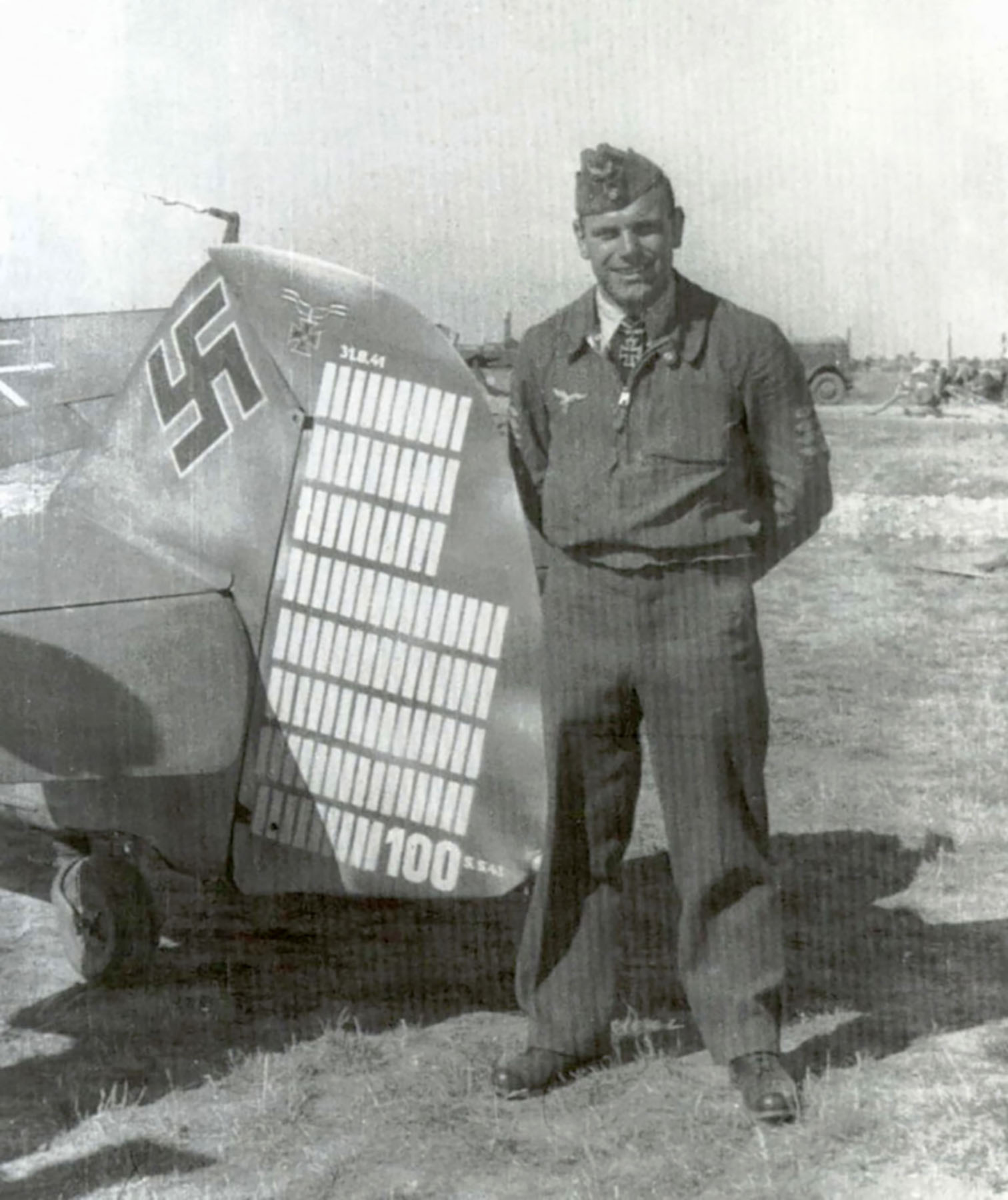 Messerschmitt Bf 109G4 7.JG52 Hans Dammers WNr 19526 Taman Aug 1943 01