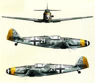 Asisbiz Messerschmitt Bf 109G14 Erla 4.JG52 White 21 WNr 464549 Zeltweg 8th May 1945 0A