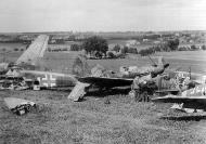 Asisbiz Messerschmitt Bf 109G14U4 Erla 3.JG52 Yellow 11 Deutsch Brod 1945 01