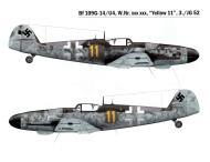 Asisbiz Messerschmitt Bf 109G14U4 Erla 3.JG52 Yellow 11 Deutsch Brod 1945 0A
