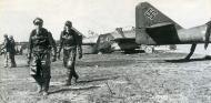Asisbiz Messerschmitt Me 262A1a JV44 WNr 11745 and Walter Krupinski background Munich Apr 1945 01