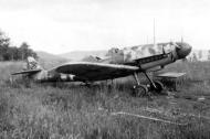 Asisbiz Messerschmitt Bf 109G10 Erla 3.JG53 Yellow 5 abandoned Germany 1945 01