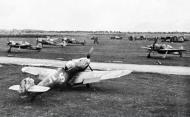 Asisbiz Messerschmitt Bf 109G14R3 Erla 3.JG53 Yellow 5 WNr 782192 Bad Aibling Germany 1945 02