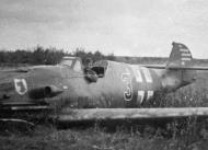 Asisbiz Messerschmitt Bf 109G2 6.JG77 Black 3 belly landed Russia Aug 1942 01