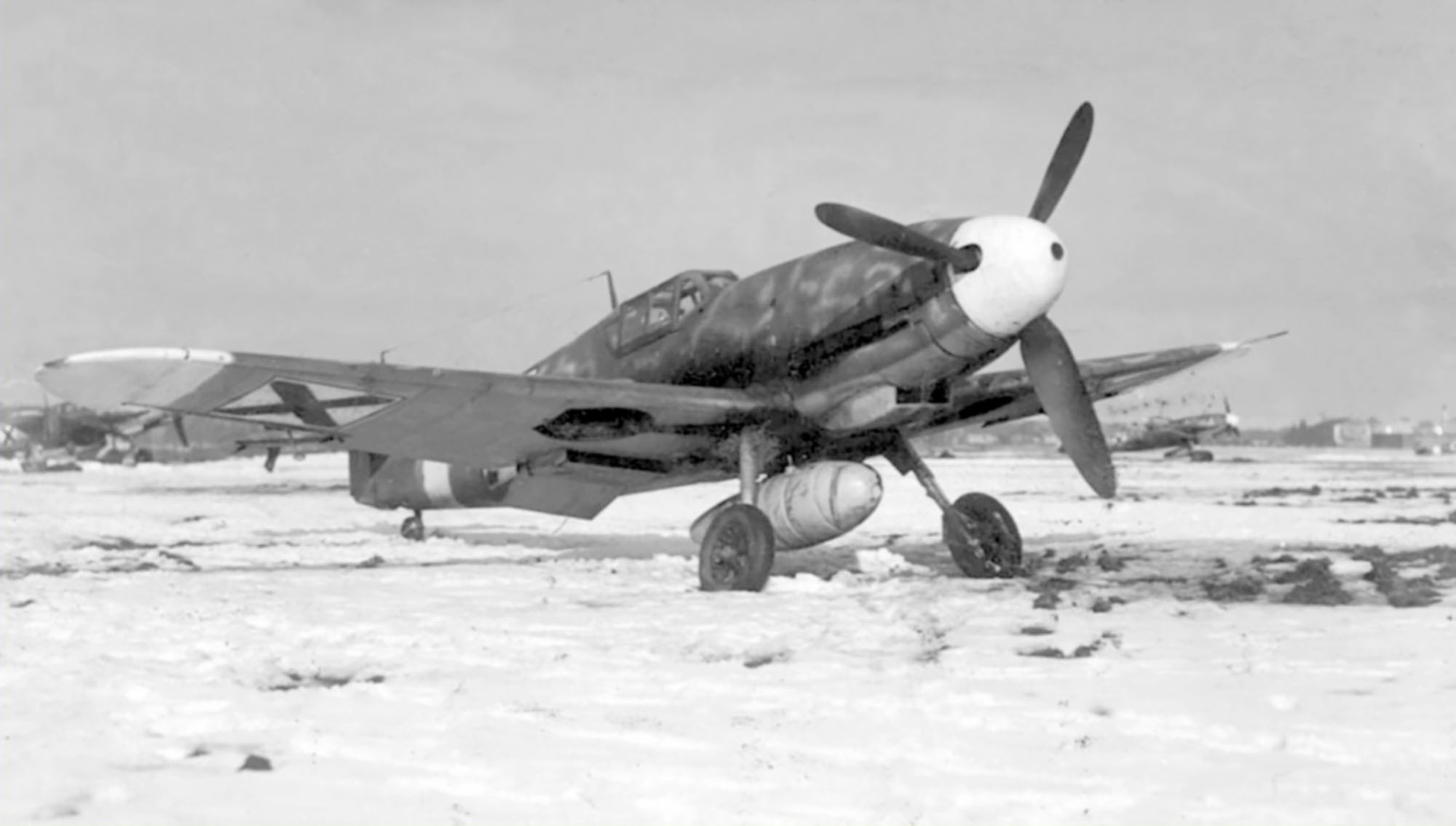 Messerschmitt Bf 109G2R3 RBuAF unknown unit Bulgaria 1943 02