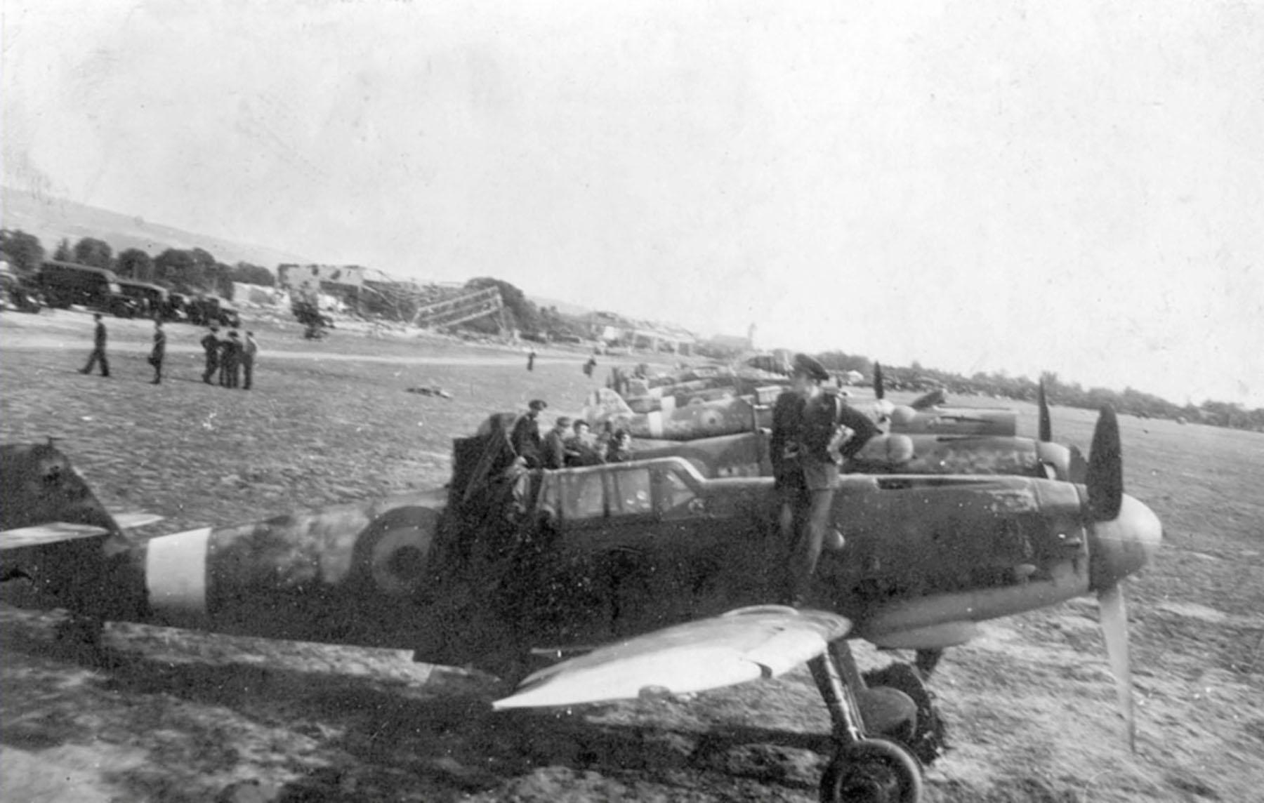 Messerschmitt Bf 109G6 Grupul 9 Bulgaria 1945 01