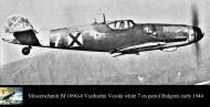 Asisbiz Messerschmitt Bf 109G6 Erla RBuAF 3.6 Orljak White 7 Stoyan Stoyanov Kdr over Bulgaria early 1944 01