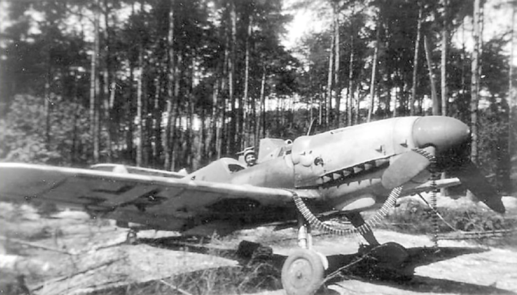 Messerschmitt Bf 109G14 Erla Reichsverteidigung unknown unit and pilot 01