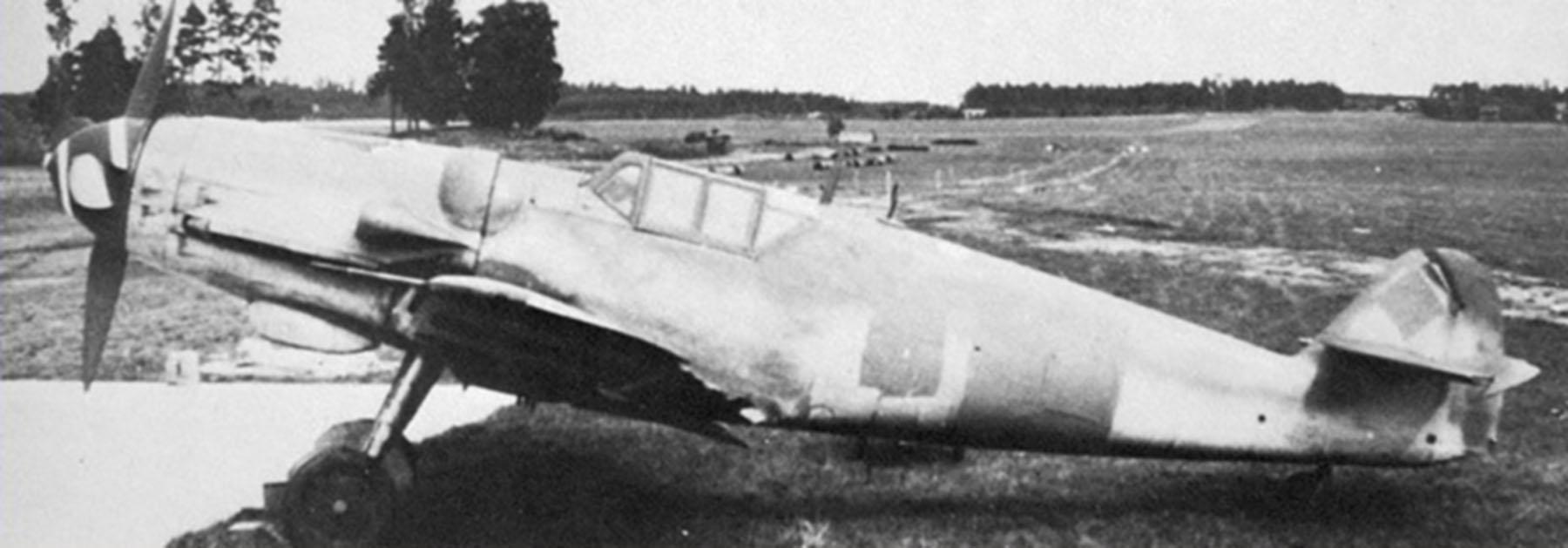 Messerschmitt Bf 109G8 Reichsverteidigung unknown unit and pilot WNr 200049 8th May 1945 01
