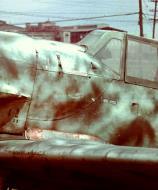 Asisbiz Messerschmitt Bf 109G10 Reichsverteidigung Black 7 became RAF T2 123 unknown unit and pilot 01